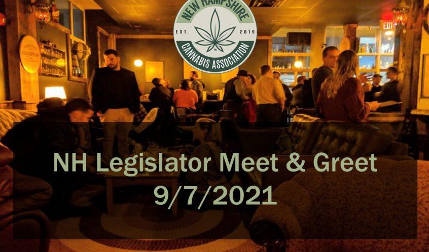 NH Legislator Cannabis Meet & Greet